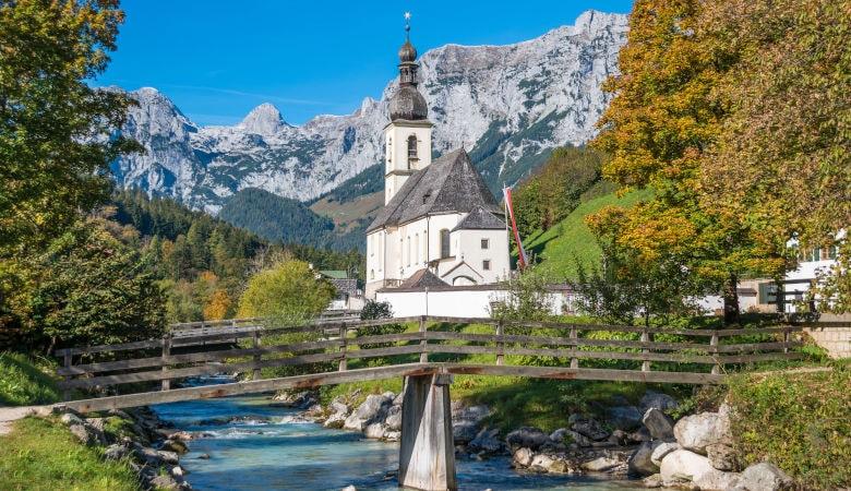 Alpen Sommer in Deutschland