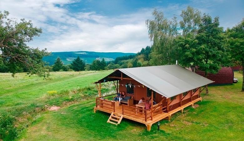 Luxuszelt Ferienpark Landal Warsberg
