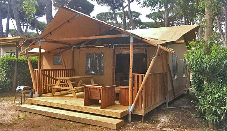 Glamping Gustocamp Camping Park Albatros