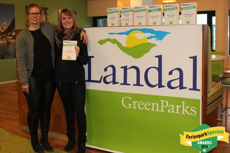 FerienparkSpecials Awards Übergabe bei Landal