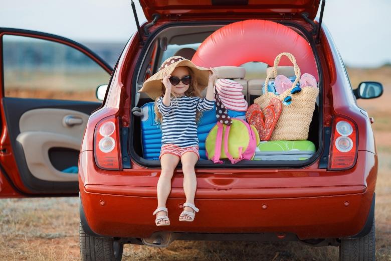 Auto packen für den Urlaub