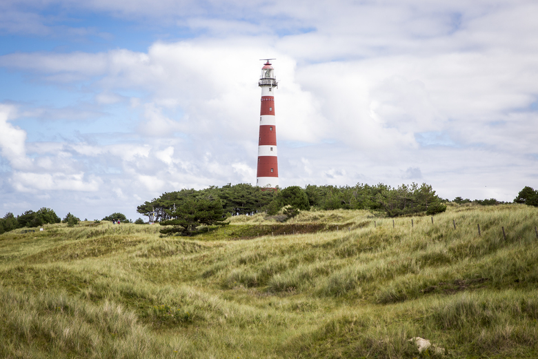 Leuchtturm in Hollum auf der Insel Ameland