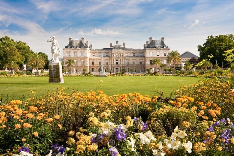 Das Schloss in Luxemburg