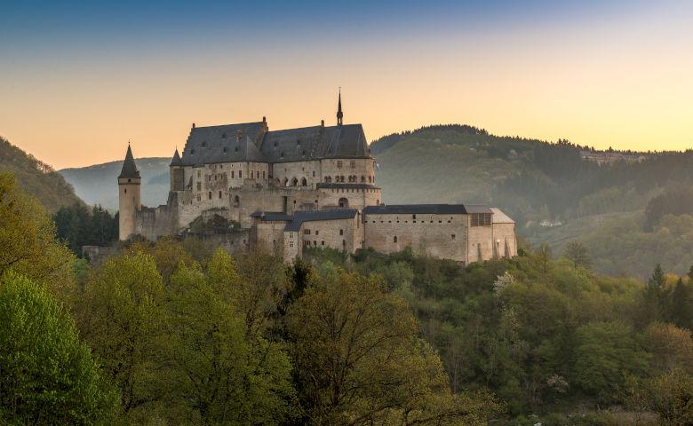 Burg Vianden in Vianden