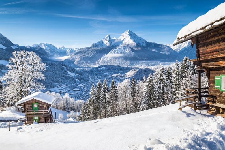Silvester mit Kindern im Schnee