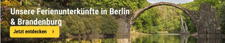 Unsere Unterkünfte in Berlin und Brandenburg