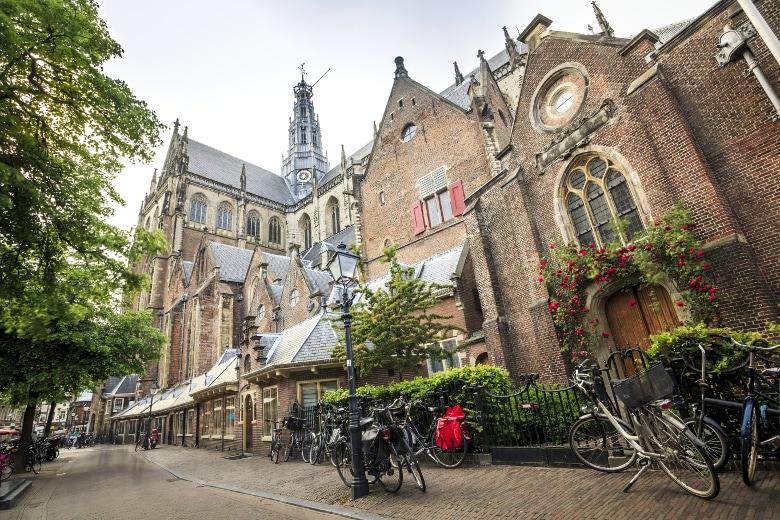 Haarlem Zentrum Groote Kerk