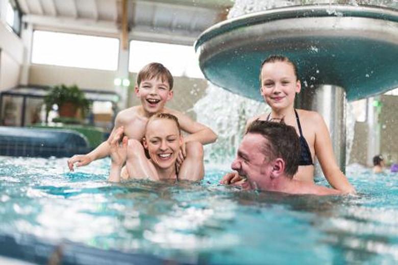 Trixi Ferienpark subtropisches Schwimmbad