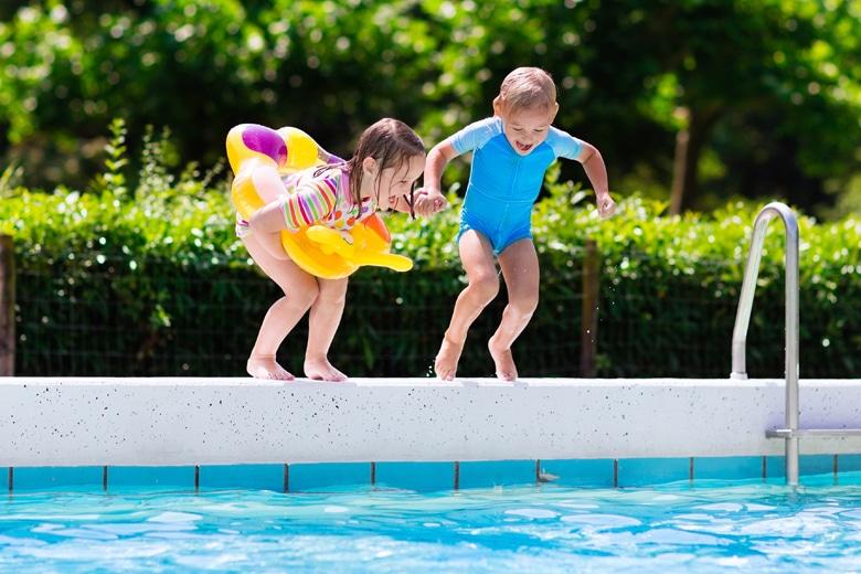 Urlaub mit Schwimmbad inklusive in Deutschland