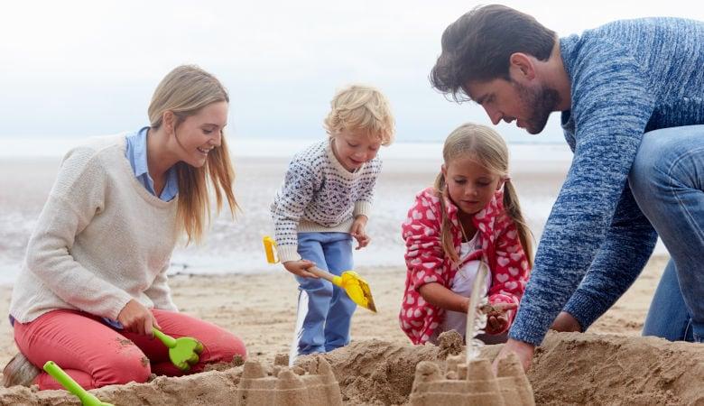 Pfingsturlaub mit der Familie in Holland am Meer