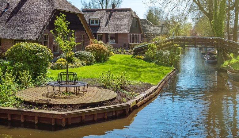 Pfingsturlaub in Holland am See - Giethoorn