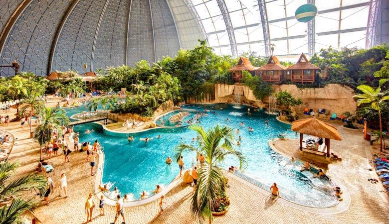 Tropical Islands Resort bester Ferienpark mit Erlebnisbad