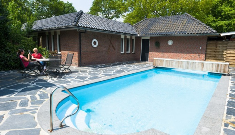 Ferienhaus mit privatem Pool Holland