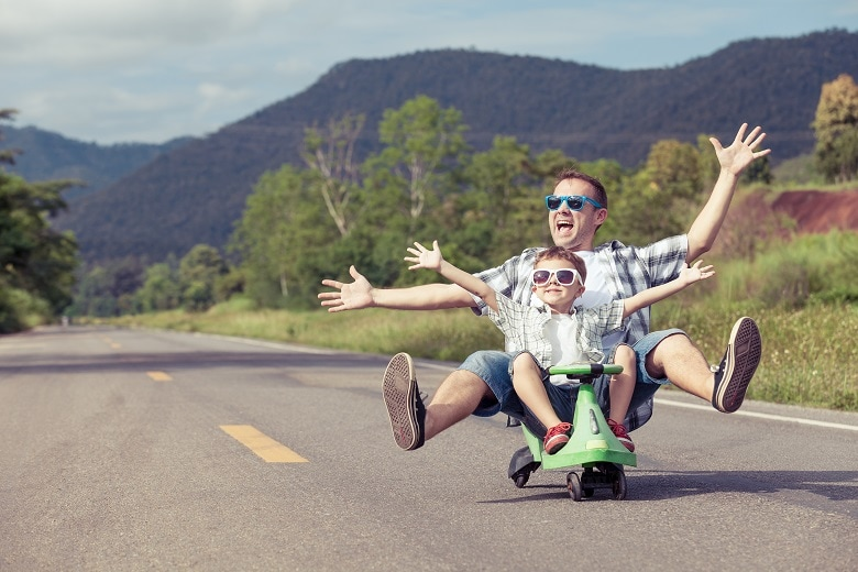 Abenteuerurlaub mit Kindern