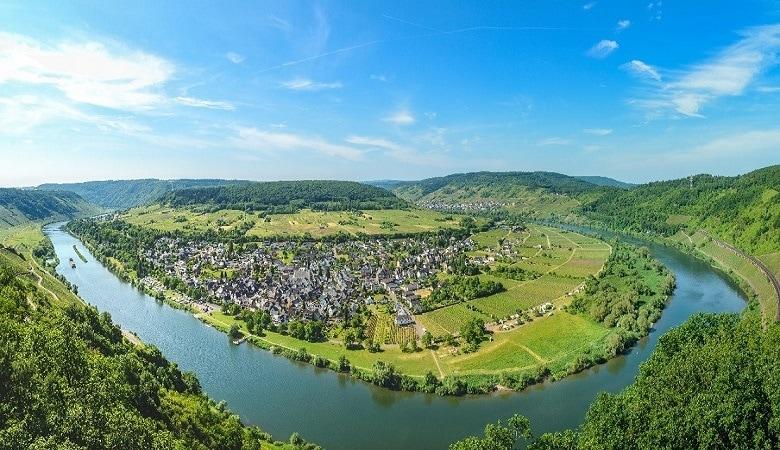 Aussichtspunkt Calmont, Moselschleife