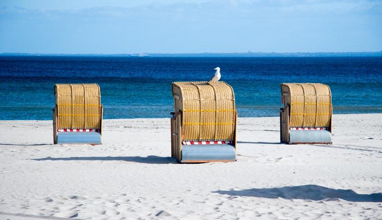 Ostsee Guide, Strandkorb, Strand