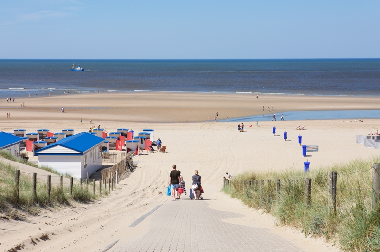 Urlaub in Holland am Meer