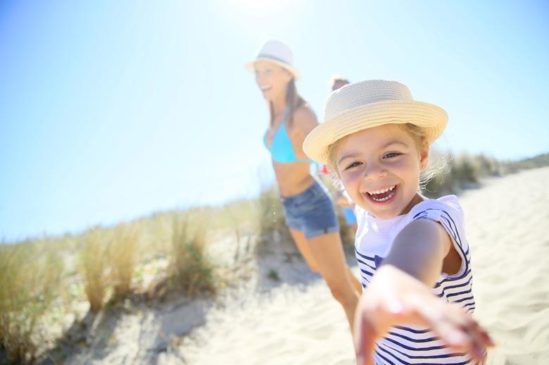 Urlaub mit Kindern in Holland am Meer