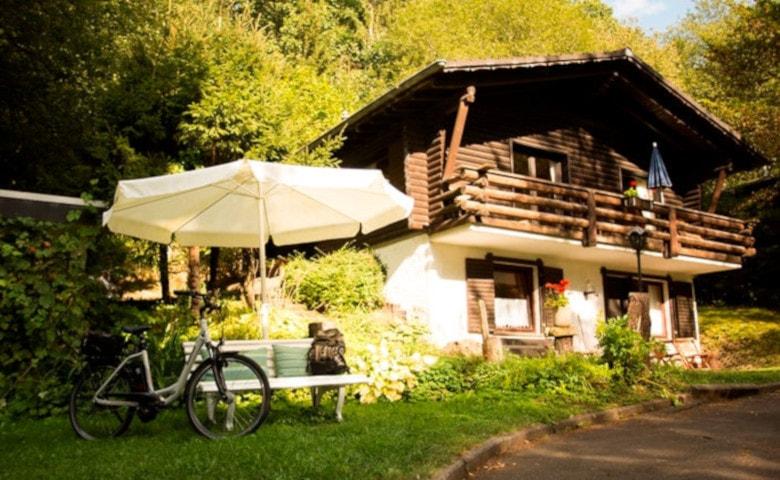 Ferienhaus im Wald für Urlaub im Wald