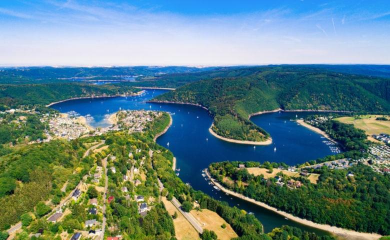 Urlaub im Wald in der Eifel von Deutschland