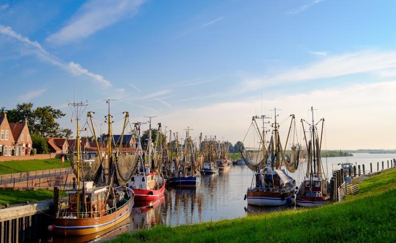 Nordsee Tagesausflug nach Greetsiel in Ostfriesland