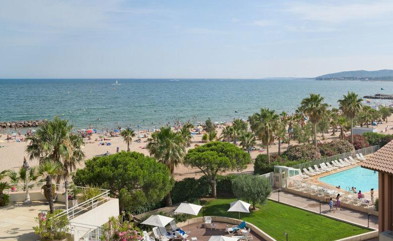 Ferienanlage in Südfrankreich direkt am Strand