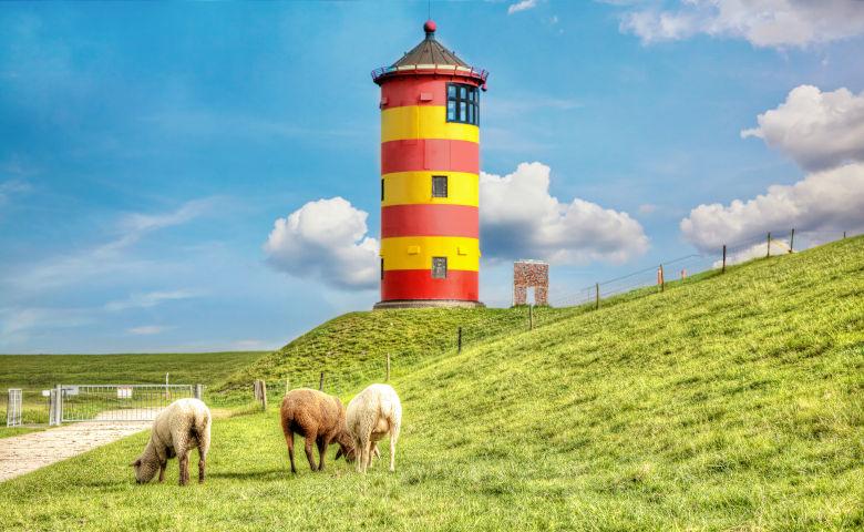 Ausflugsziel Ostriesland an der Nordsee