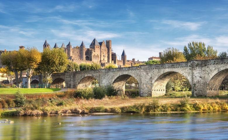 Carcassonne mit Burg