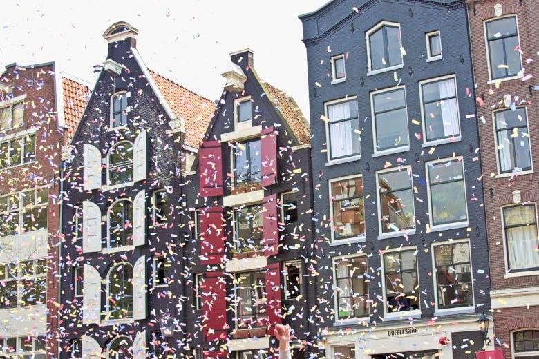 Königstag in Holland mit Kindern