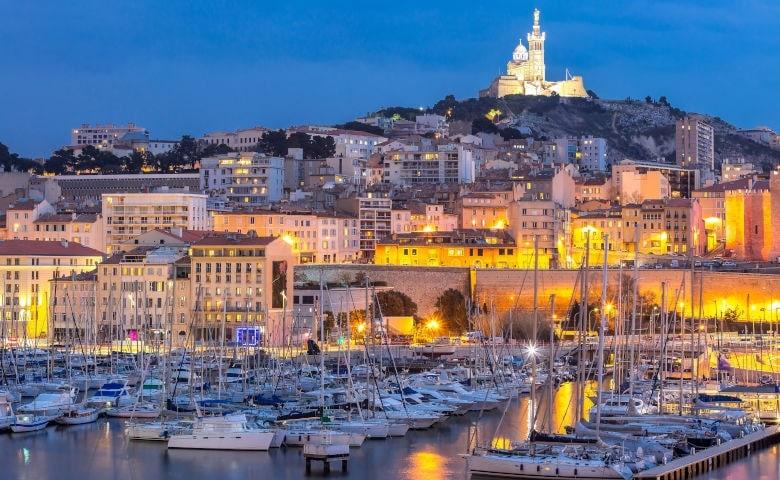 Die zweitgrößte Stadt Frankreichs Marseille