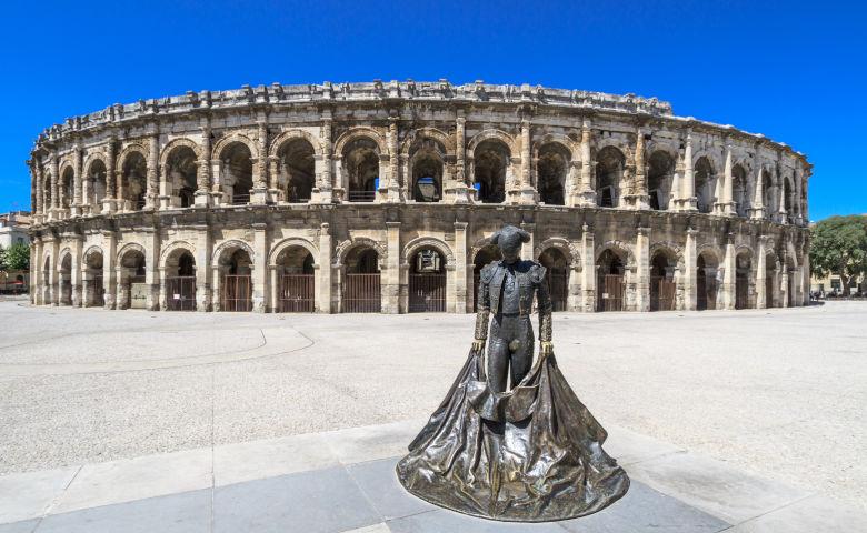 Nîmes mit Kolosseum
