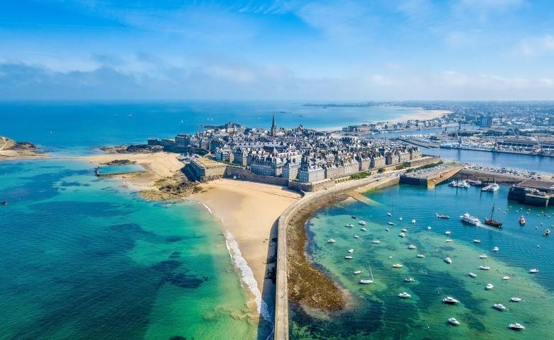 Überblick über die Stadt Saint-Malo