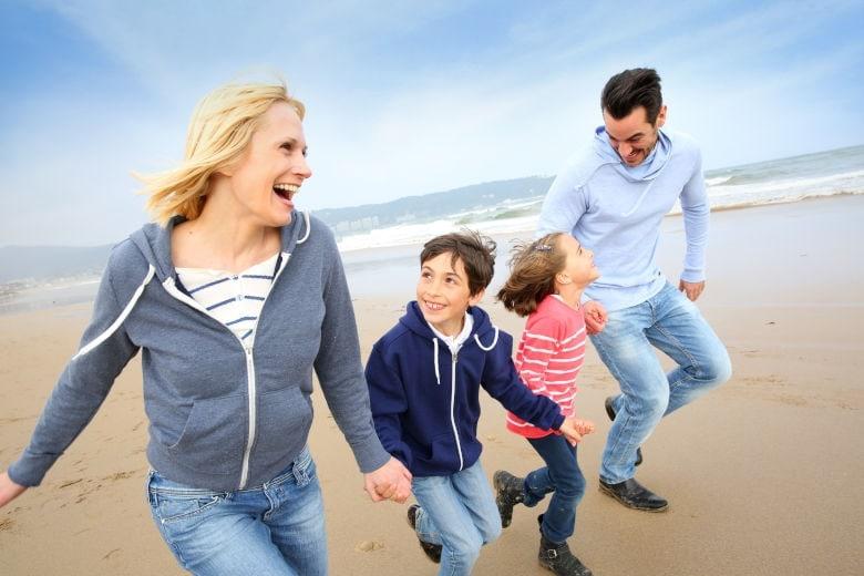 Herbstferien am Meer mit Kindern