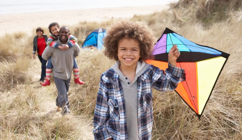 Herbstferien mit Kindern am Meer