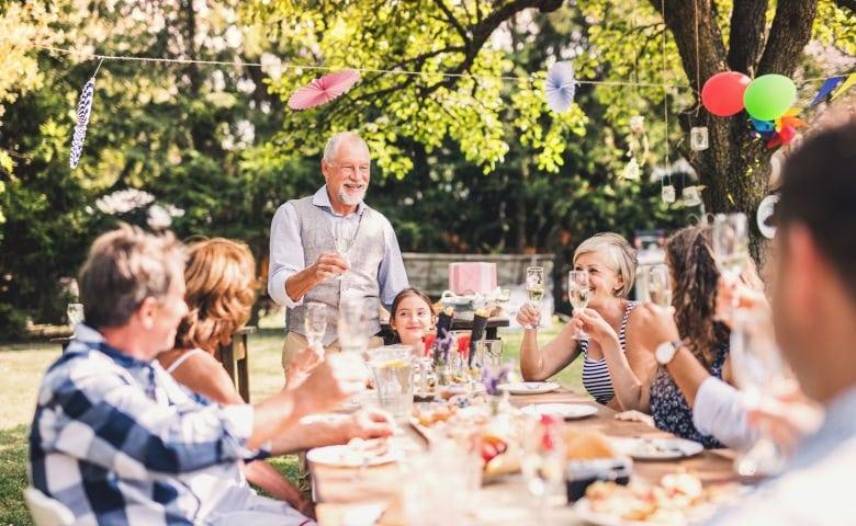 Die richtige Unterkunft für Familientreffen