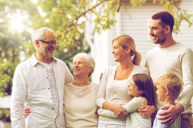 Unterkünfte für das Familientreffen