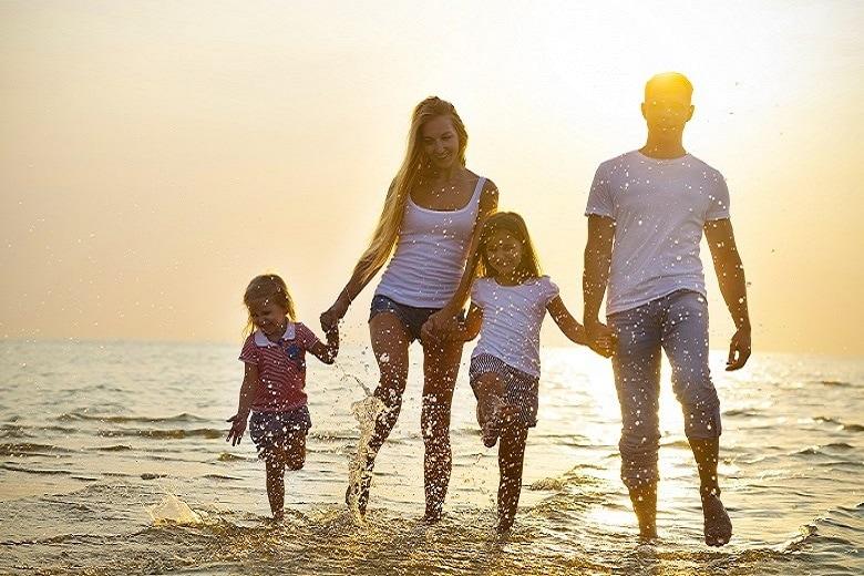Sommerferien mit Kindern am Meer