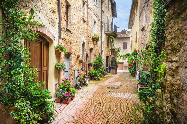 Gasse in Italien