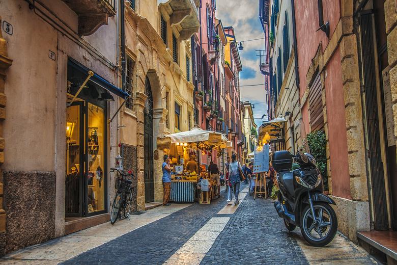 romanitsche Gassen in Verona