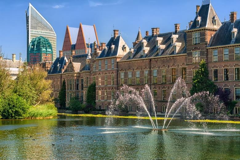Den Haag mit Hund