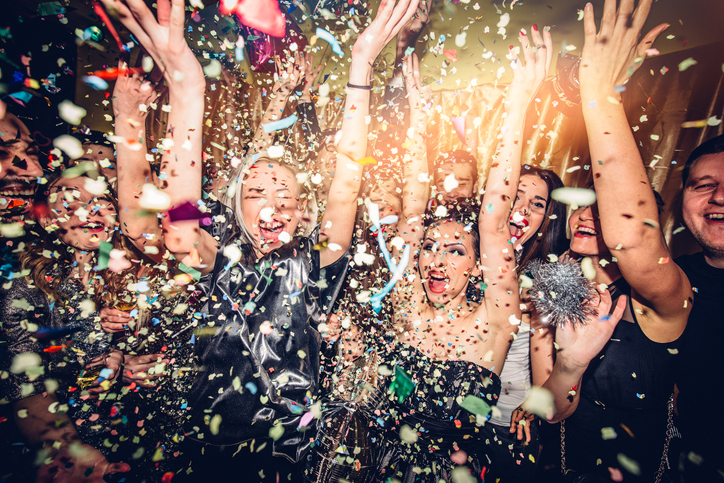 Club an Silvester in Amsterdam
