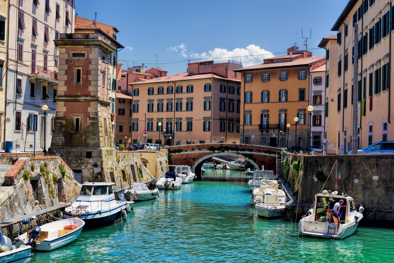Kanäle in Livorno