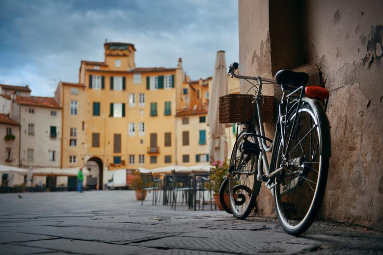 Historischer Platz in Lucca