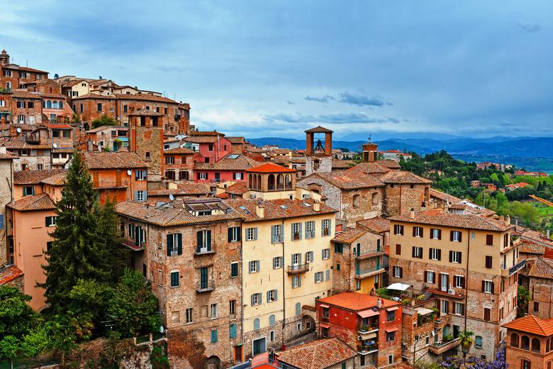 Panoramablick über Perugia