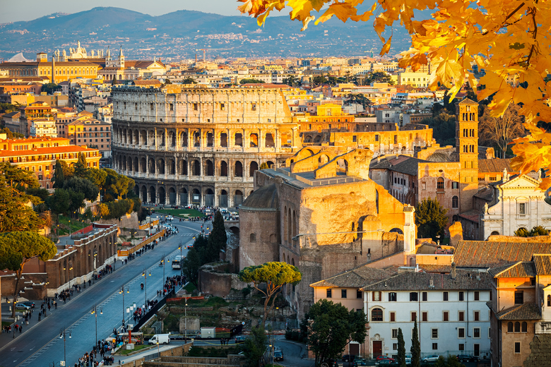 historisches Zentrum von Rom