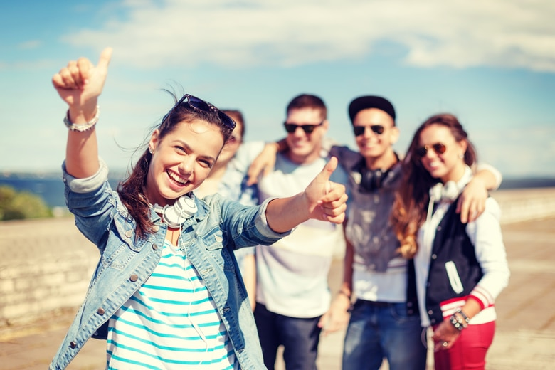Urlaub mit Teenagern
