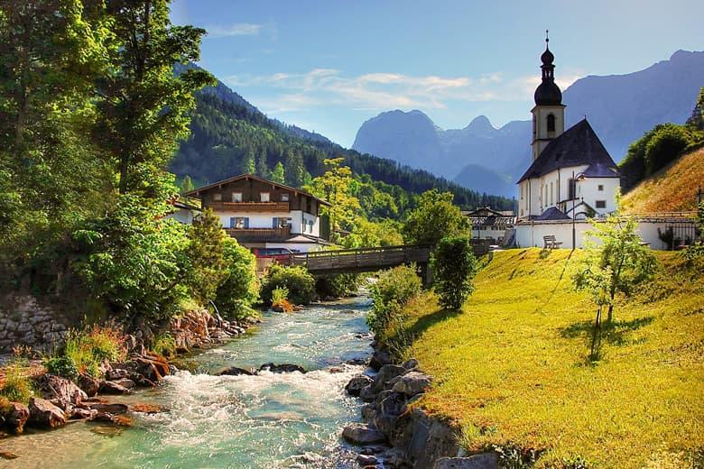 Virtuell reisen - Berchtesgadener Land